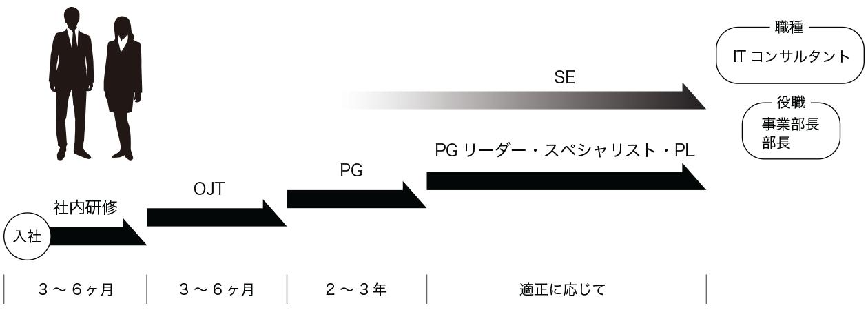 ナナイロのキャリアパス(career path)